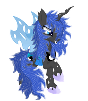 Princess Luna (Changeling) by Law44444