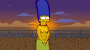 Marge Simpson sexy by paulohonda