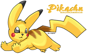 Pikachu running by lolykat