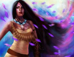 Pocahontas Colors of the Wind by MagicnaAnavi