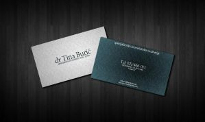 Dentist business card by tbubicans