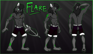 Commish- Flare Ref by Tsebresos