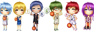 Chibi KnB: Generation Of Miracles by xxxRinRulesxxx