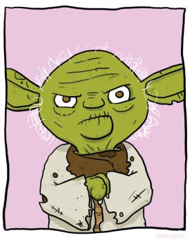 Y is for Yoda by striffle