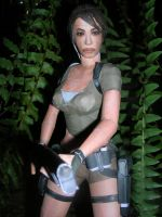 Lara Legend Papercraft 2 by TR-maniac