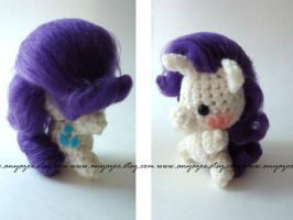Rarity Amigurumi by AnyaZoe