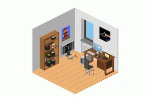 3 Rooms: Entertainment Room by saberrider