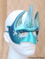 Trident - sea creature mask by Alyssa-Ravenwood