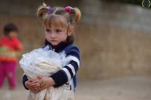 little Syrian Refugee by promise2smile4ever