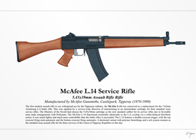 McAfee L.4 Assault Rifle (NationStates) by Artifician