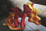 Red Princess (Apple or Fire, Your Choice) by valleyviolet