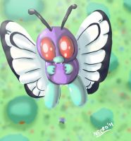 Butterfree, yay by Necrokidy