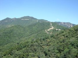 View from The Great Wall 1 by Laura-in-china