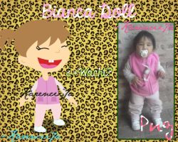 Doll Bianca Bufellie (Png) by Karencii7a