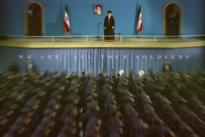 Leader Of Islamic Revolution:Seyyed Ali Khamenei by karentolo
