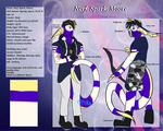 MTT: Nerf Sparx Moore Humanoid Reference by Grace-Winters