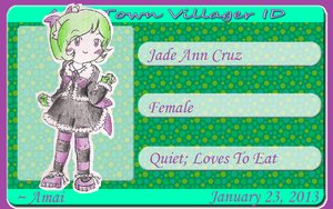 Jade Cruz App [RE-DO] Version 2.0 by CreamPuff-Pikachu