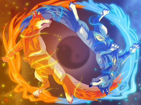 Sun and Moon by Sushinessa