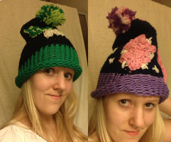 Ben 10 and Twilight Sparkle beanies by mirry92