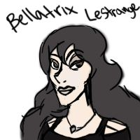 Bellatrix Lestrange by fourswords