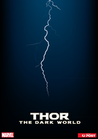 Thor: TDW Promo Poster Stamp set by MudgetMakes