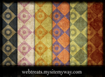 Grunge Wallpaper Patterns by WebTreatsETC