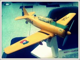 Model of a plane by Maleiva