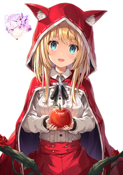 [Original] Little Red Riding Hood Render by LCkiWi