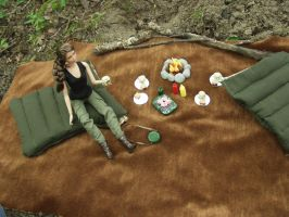 1:6 Scale Camping and Outdoor Adventure Set by BeautifulEarthStudio