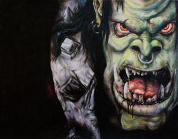 The Warcraft Orc by kinobuta