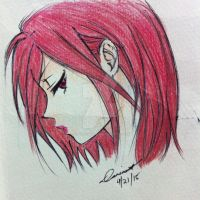 Red haired by CasterofDreams