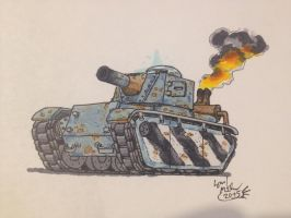 TF2 Armed Tank concept by DrEisenhauer28