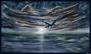 Sea Dragon Skywave by AzureParagon