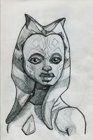 Ahsoka Tano by Fellhauer