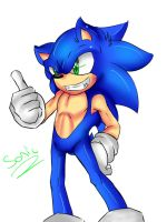 my sonic style by Ashura6000