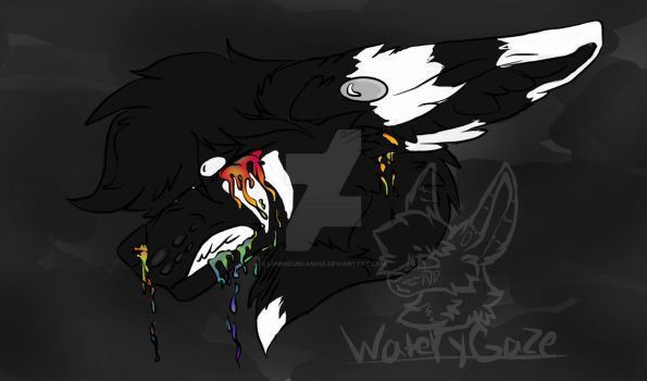 Live, Cry, and Bleed Art by WateryGaze