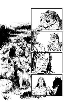Pathfinder Tarzan one shot p8 by GIO2286