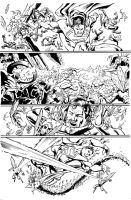 SUPERMAN 672 PG 18 by NelsonInks