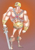 HE-MAN by supertipo