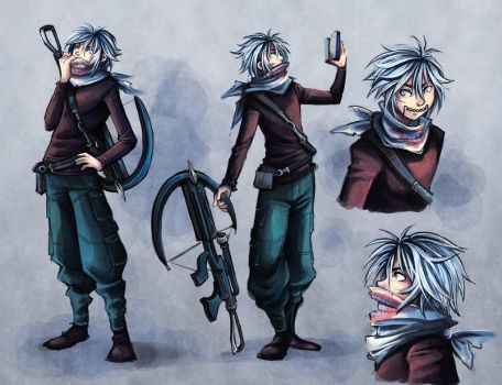 Sid Character Concept 01 by Snow the Wanderer by Drew-Writer