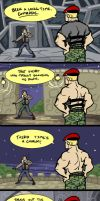 A tale of Jack Krauser by Coelasquid