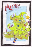 Christmas Card 2010 by funkypam