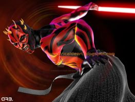 Darth Maul 2 by pururaucangel