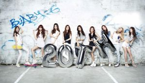 Girl's Generation casio baby-g 20th by dancingsbunny