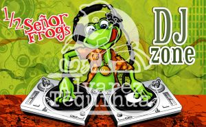 sr frogs dj zone by AlvarezTequihua