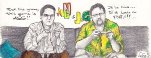 AVGN and JDG by devil-urumi
