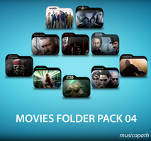 Movie Folders Pack-04 by musicopath