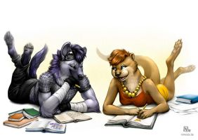 Drawing Session by Nimrais
