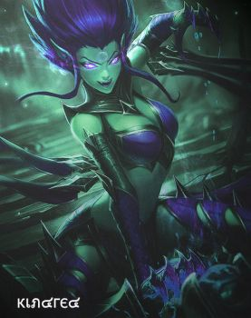 League of Legends Evelynn - Toxic Ghost by KindredFS