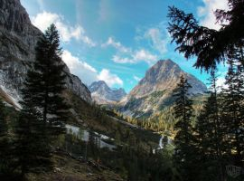 alps mountain view 1 by ThorBet